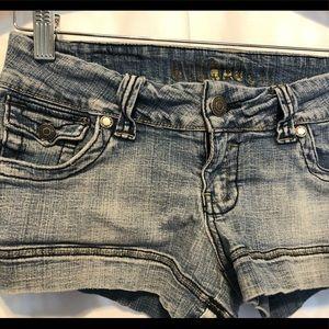 Hydraulic denim shorts size 5/6